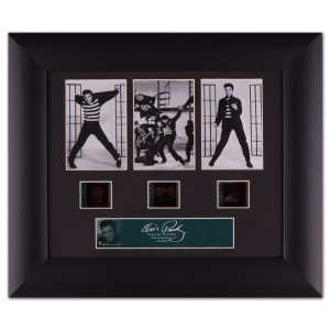 Elvis Presley - Classic Jailhouse Rock Framed Collectable