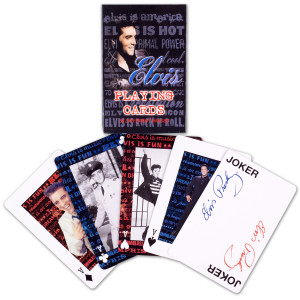 Elvis Playing Cards