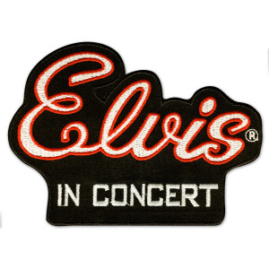 Elvis In Concert Patch