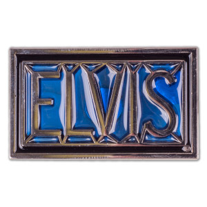 Elvis Blue Magnet