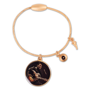 Elvis 68 Comeback Cable Keychain