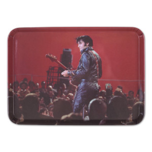 Elvis 68 Comeback In Leather Tray