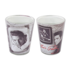 Elvis - Montage Shot Glass