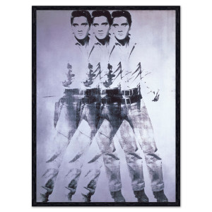Triple Elvis 1963 Andy Warhol Art Print