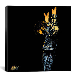 "Elvis Behold the King Canvas Print by Joe Petruccio 26"" x 26"""