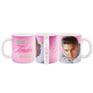 Elvis Love Me Tender Coffee Cup