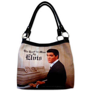 Elvis His Hand In Mine Purse