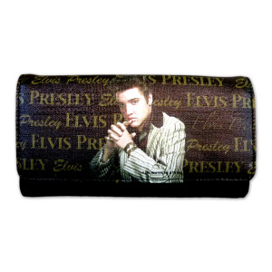 Elvis Designer Clutch Wallet