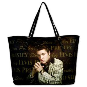 Elvis Designer Tote Bag