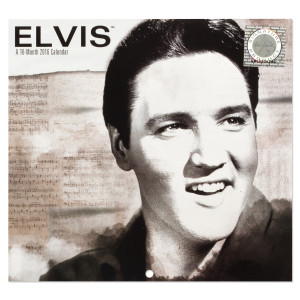 Elvis 2016 Retro Mini Calendar