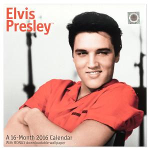 Elvis 2016 Wall Calendar