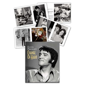 Elvis Change of Habit FTD Book and CD