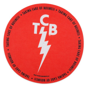 Elvis TCB Red Slip Mat