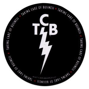 Elvis TCB Black Slip Mat