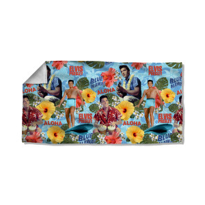 Elvis Blue Hawaii-Beach Towel