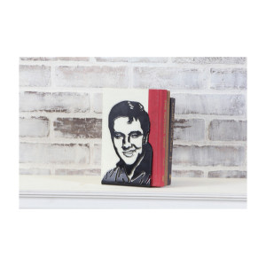 Elvis Profile Bookend