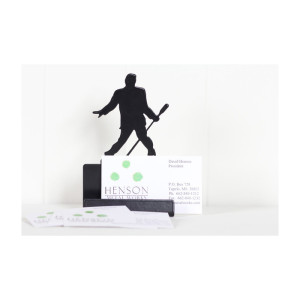 Elvis Microphone Card holder
