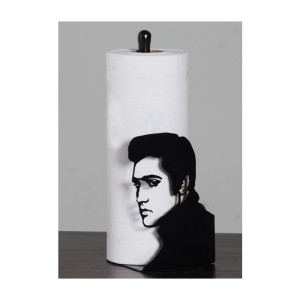 Elvis Profile Paper Towel holder