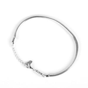 Elvis Silver Charm Bracelet