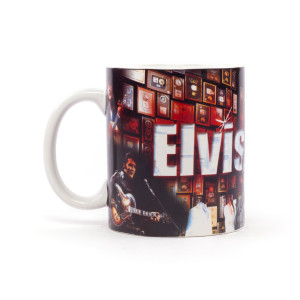Elvis Presley 11oz Mug - Collage