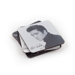 Elvis Presley Coaster Set (4-piece)