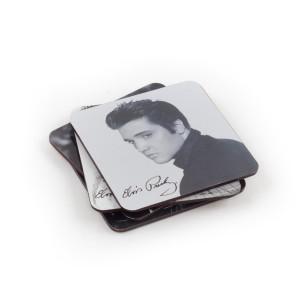 Elvis Presley Coaster Set (4-piece)