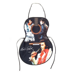 Elvis Presley Guitar Shaped Apron