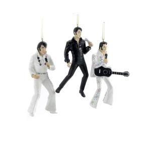 Elvis Presley In Performance Ornament Set