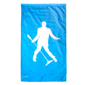 Elvis Presley Silhouette 2-sided Garden Flag - 3' x 5'