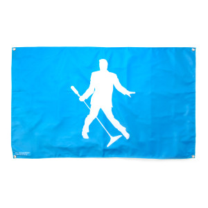Elvis Presley Silhouette 2-sided Flag - 5' x 3'