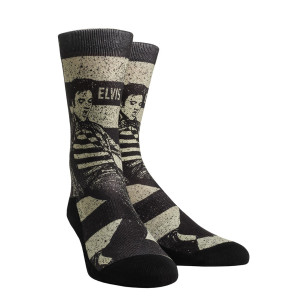 Elvis Presley Jailhouse Rock Socks - Adult