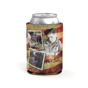 Elvis Presley U.S. Army Can Cooler