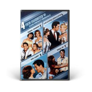 4 Film Favorite Elvis Presley Musicals