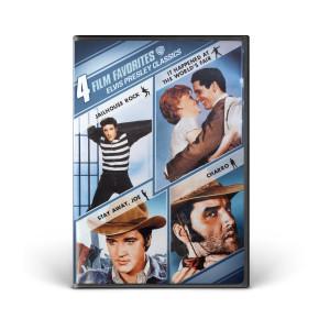 4 Film Favorite Elvis Presley Classics