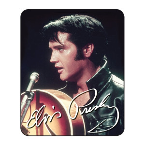 "Elvis ""68 Special"" - Medium Weight Faux Fur Blanket"