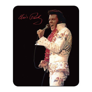 "Elvis ""Aloha From Hawaii"" - Medium Weight Faux Fur Blanket"