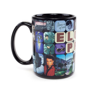 Elvis Collage Mug
