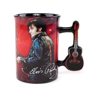 Elvis '68 Special Guitar Handle Mug