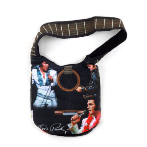 Elvis Guitar Tote Bag