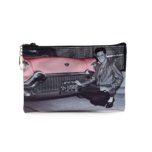 Elvis Pink Cadillac Make Up Bag