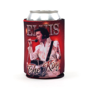 "Elvis ""The King"" Can Cooler in Red"
