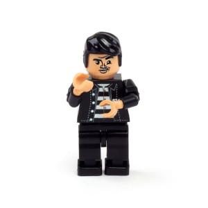 Elvis Presley Jailhouse Rock Minifigure