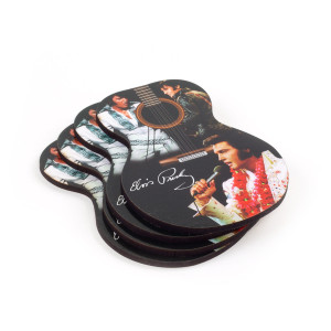 Elvis Presley Guitar Coasters