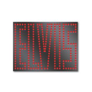 ELVIS in lights Enamel Pin