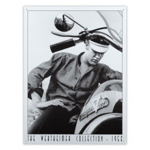 Wertheimer - Elvis on Motorcycle Sign