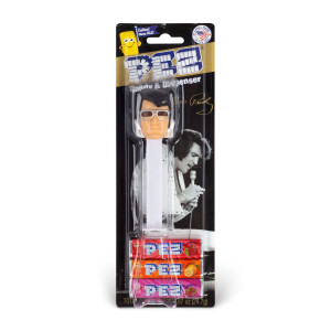 Elvis Presley 70's White Pez Dispenser