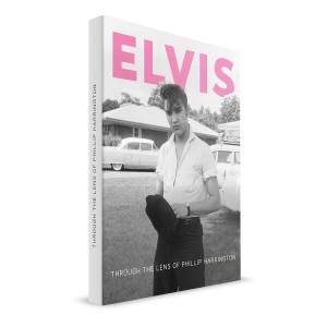 ELVIS - FTD THROUGH THE LENS OF PHILLIP HARRINGTON + CD