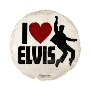 Elvis Presley I Heart Elvis Stepping Stone