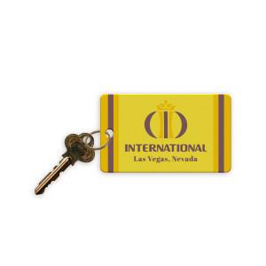 Elvis LIVE 1969 International Hotel Replica Hotel Room Key