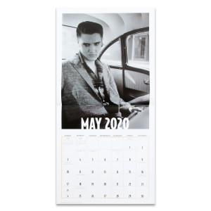 Elvis Presley Wertheimer 2020 Wall Calendar